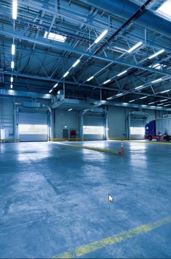 фото освещение для склада